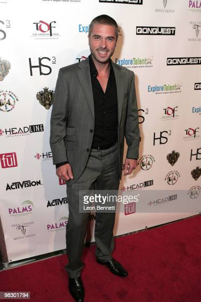 Anthony Dupray arrives at Boulevard3 on April 6 2010 in Hollywood California