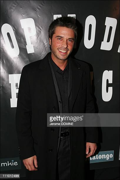 Anthony Dupray at the election of French Top Model 2007 at the Theatre Pierre Cardin in Paris France on March 26th 2007