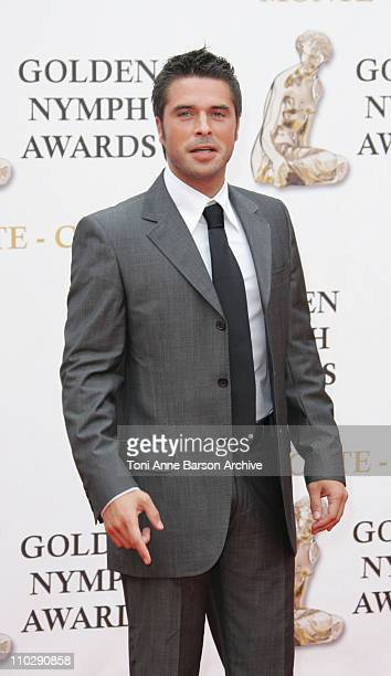 Anthony Dupray during 2007 Monte Carlo Television Festival Closing Ceremony Gold Nymph Awards Arrivals at Grimaldi Forum in Monte Carlo Monaco