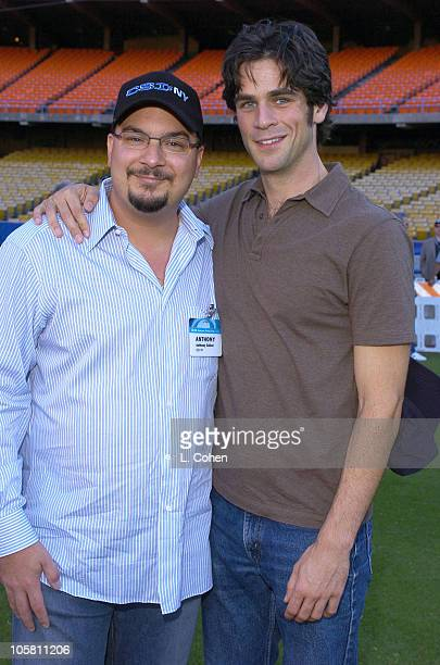 Anthony E Zuiker cocreator and executive producer of CSI NY and star Eddie Cahill