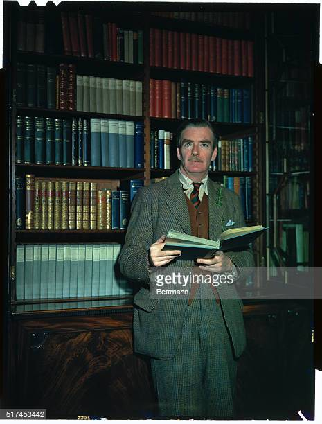 Anthony Eden an English politician is shown here