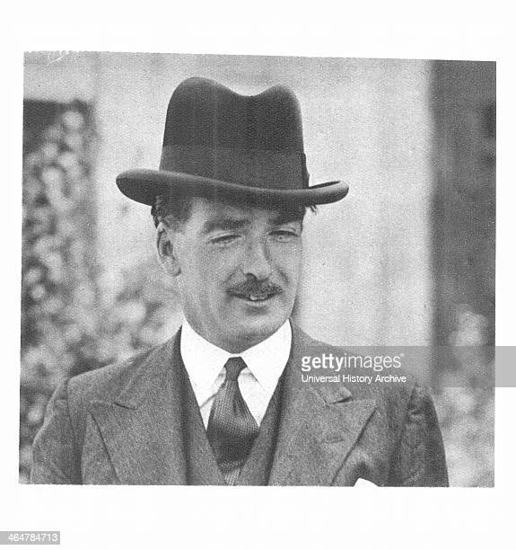 Anthony Eden British politician in 1938 when he resigned as Foreign Secretary