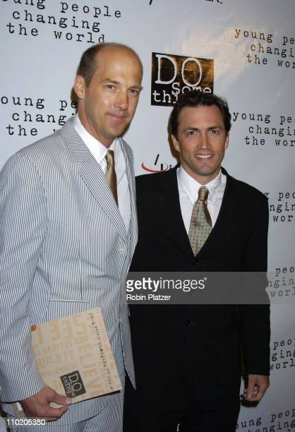 Anthony Edwards and Andrew Shue during Ashanti Appears at the 2004 Do Something Brick Awards at Metropolitan Pavilion in New York City New York...