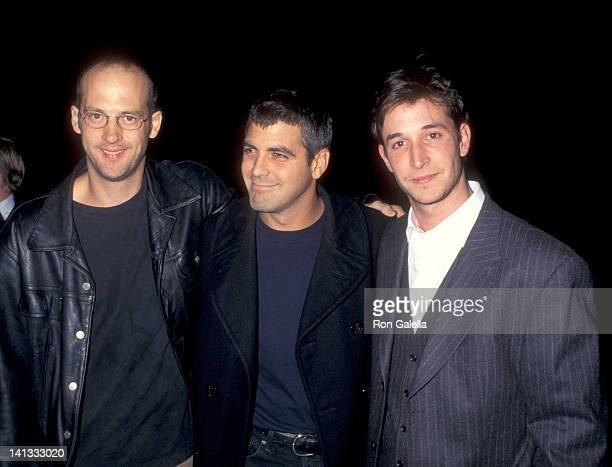 Anthony Edwards George Clooney and Noah Wyle at the Premiere of 'From Dusk Till Dawn' Pacific's Cinerama Dome Hollywood