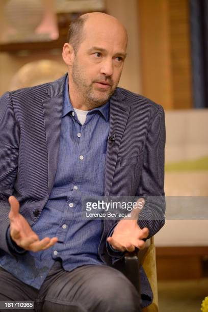MICHAEL 2/13/13 Anthony Edwards is a guest today on LIVE with Kelly and Michael distributed by DisneyWalt Disney Television via Getty Images Domestic...