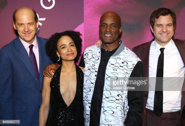 Anthony Edwards Lauren Ridloff Kenny Leon Joshua Jackson attend the Broadway Opening Night After Party for 'Children of a Lesser God' at Edison...