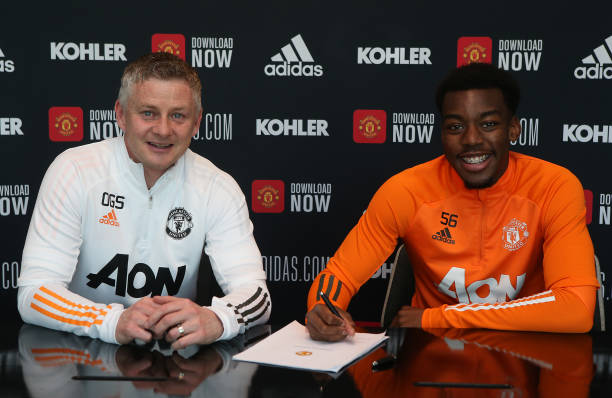 GBR: Anthony Elanga Signs a New Contract at Manchester United