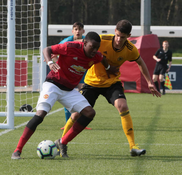 GBR: Wolverhampton Wanderers v Manchester United: U18 Premier League