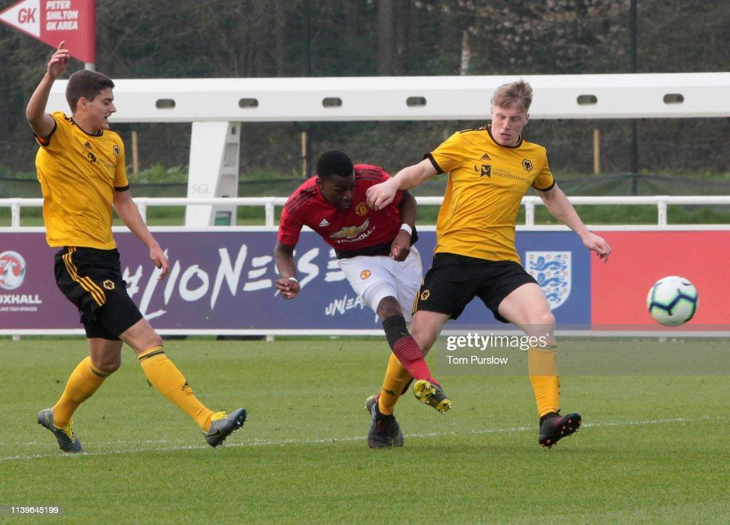 Wolverhampton Wanderers v Manchester United: U18 Premier League : News Photo