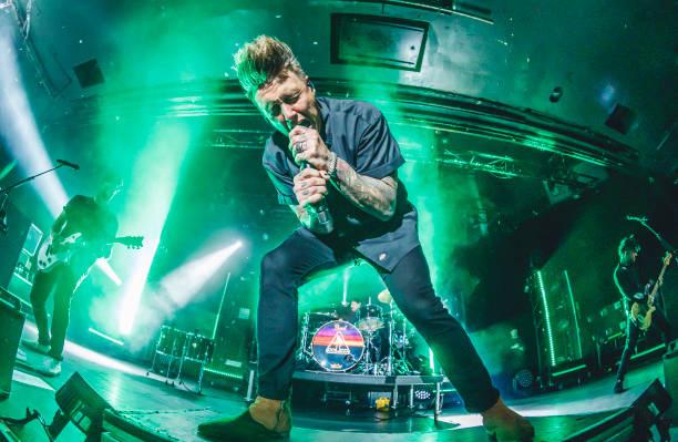 ESP: Papa Roach Concert In Madrid