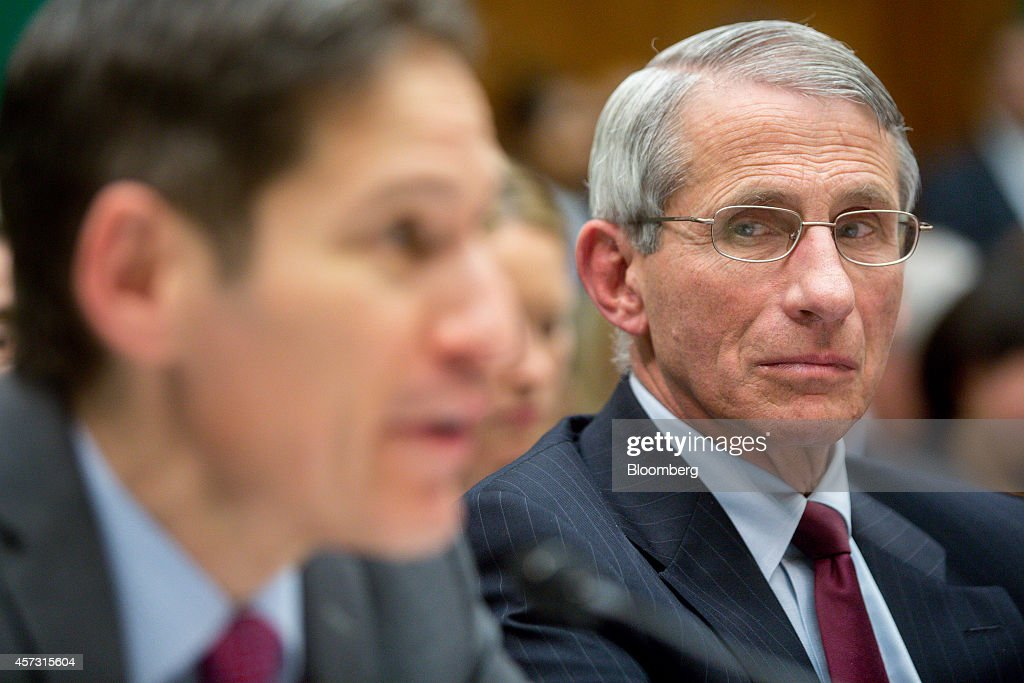Centers for Disease Control and Prevention Director Thomas Frieden Testifies At House Hearing on Ebola : News Photo