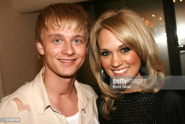 Anthony Fedorov and Carrie Underwood