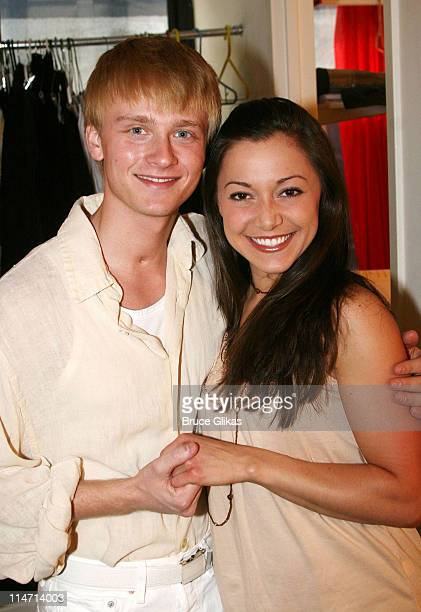 Anthony Fedorov and costar Julie Craig