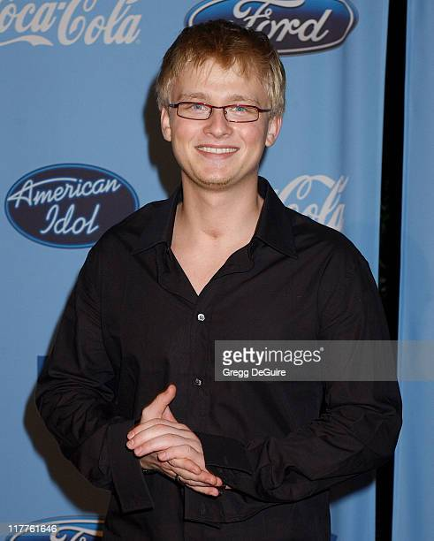 Anthony Fedorov during 'American Idol' Season 4 Top 12 Finalists Party at Astra West in West Hollywood California United States