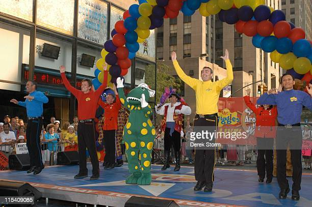 Anthony Field Murray Cook Greg Page and Jeff Fatt of The Wiggles