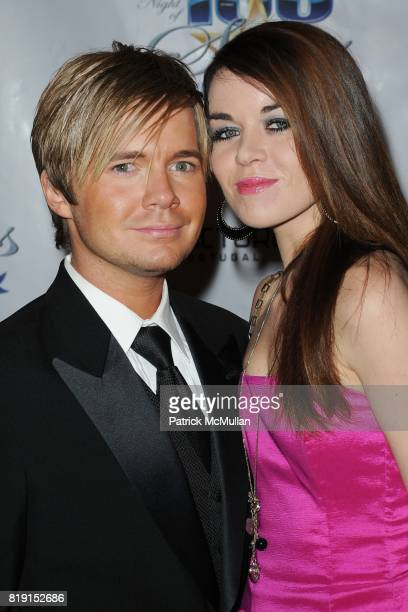 Anthony Fitzgerald and Jade Ramsey attend A Night Of 100 Stars at Beverly Hills Hotel on March 7 2010 in Beverly Hills California