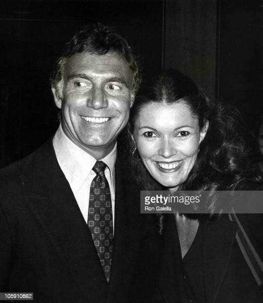 Anthony Franciosa and guest during NBC Affiliates Dinner at Century Plaza Hotel at Century Plaza in Century City California United States