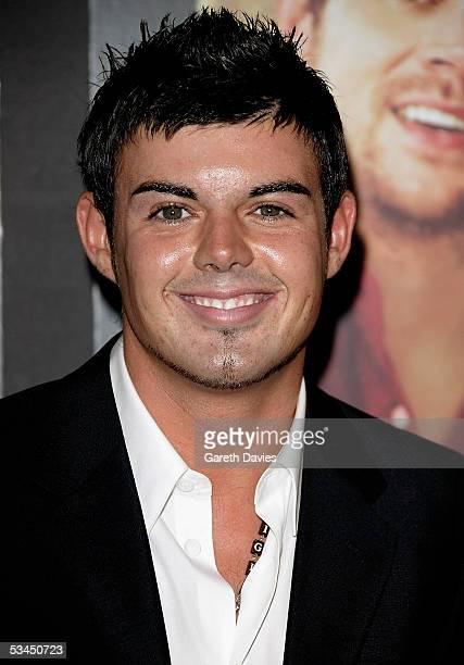 Anthony from Big Brother arrives at the UK Premiere of 'The Dukes Of Hazzard' at Vue West End on August 22 2005 in London England