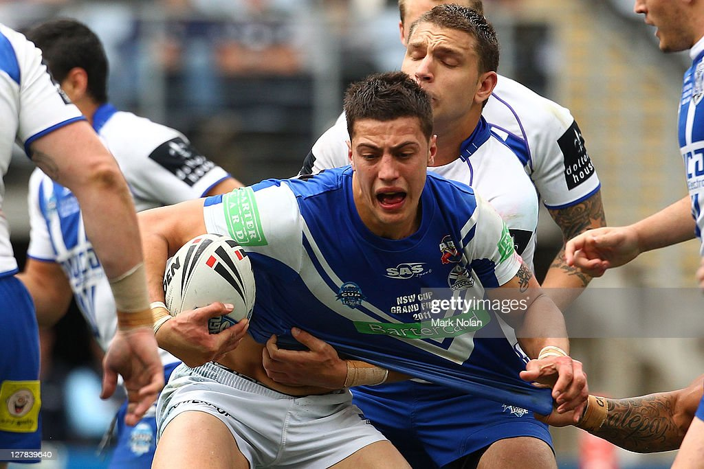 2011 NSW Cup Grand Final - Bulldogs v Vulcans : News Photo