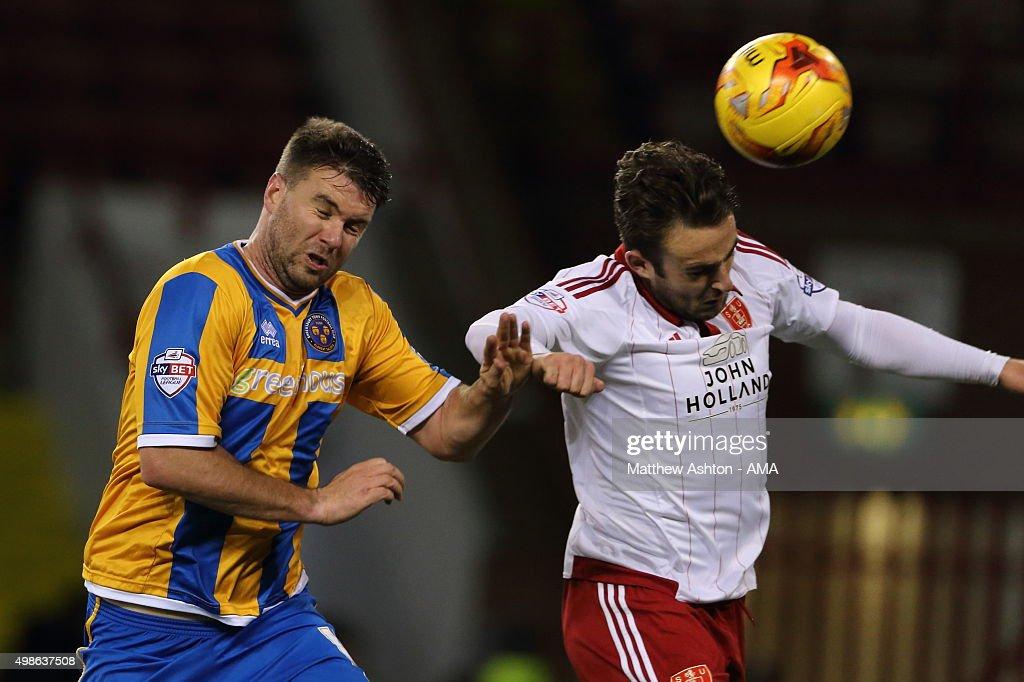 Sheffield United v Shrewsbury Town - Sky Bet Football League One