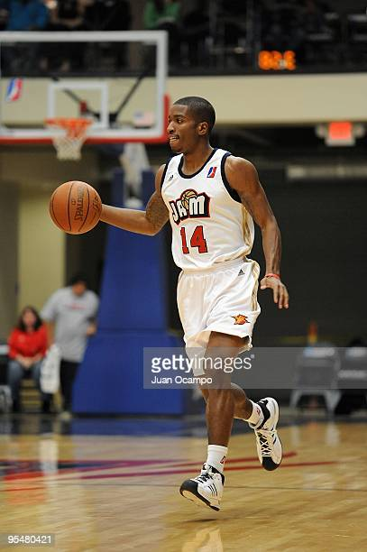 Anthony Goods of the Bakersfield Jam drives the ball up court during the DLeague game against the Utah Flash on December 5 2009 at Jam Events Center...