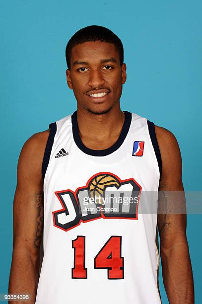 Anthony Goods of the Bakersfield Jam poses for a photo during media day on November 23 2009 at Jam Events Center in Bakersfield California NOTE TO...