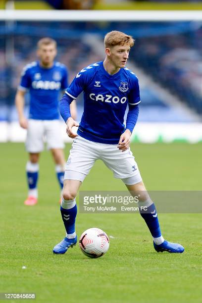Anthony Gordon of Everton during the PreSeason Friendly match between Everton and Preston North End at Goodison Park on September 5 2020 in Liverpool...