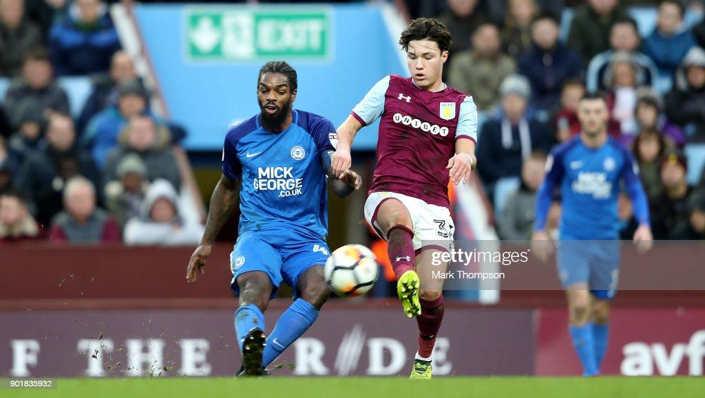 Aston Villa v Peterborough United - The Emirates FA Cup Third Round : News Photo
