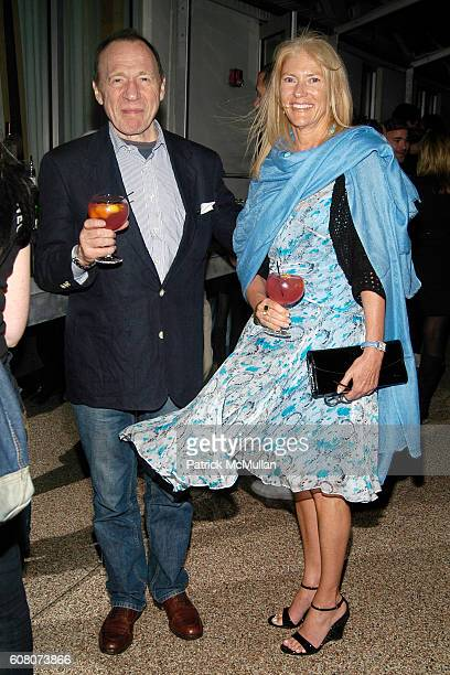 Anthony Haden Guest and Daisy Dickinsen attend IMPERIA VODKA Presents the VISIONAIRE Artist Toys Launch Party at The Raleigh Hotel on December 9 2006...