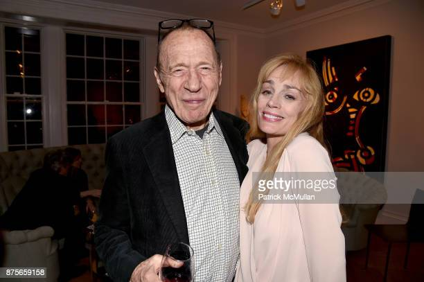 Anthony HadenGuest and Anne Shearman attend Edelman Arts The Infamous Rose Hartman at Edelman Arts on November 17 2017 in New York City