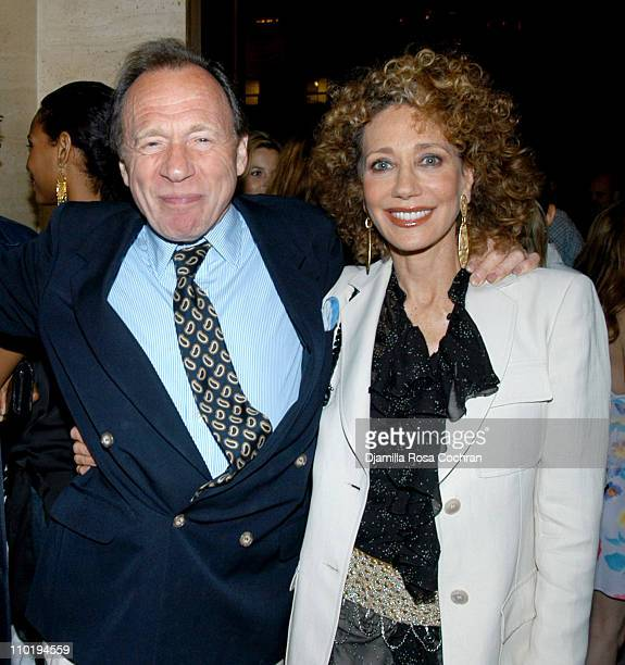 Anthony HadenGuest and Marisa Berenson during The Four Seasons Restaurant Celebrates Summer in the City with Gotham Magazine at The Four Seasons...