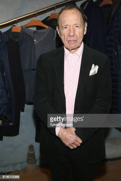 Anthony HadenGuest attends AVENUE Celebrate its two Newest Contributing Editors Nina Griscom and Anthony HadenGuest on February 13 2018 in New York...