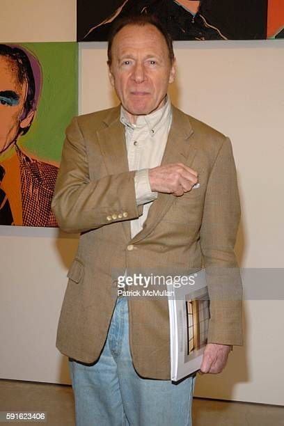 Anthony HadenGuest attends Opening of Andy Warhol Portraits at Tony Shafrazi Gallery on May 12 2005 in New York City