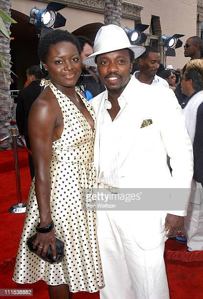 Anthony Hamilton and guest during 6th Annual BET Awards 106 Park at Shrine Auditorium in Los Angeles CA United States