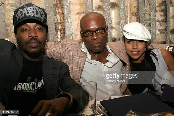 "Anthony Hamilton, Antonio ""LA"" Reid and Natasha Ramos"