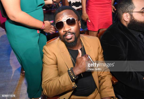 Anthony Hamilton attends Black Girls Rock 2017 backstage at NJPAC on August 5 2017 in Newark New Jersey