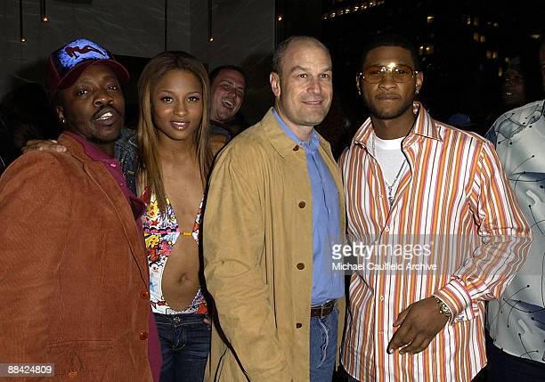 Anthony Hamilton, Ciara, Barry Weiss and Usher