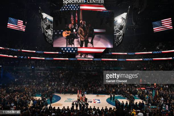 Anthony Hamilton performs before the 2019 NBA AllStar Game on February 17 2019 at the Spectrum Center in Charlotte North Carolina NOTE TO USER User...