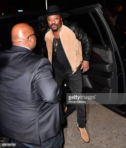 Anthony Hamilton seen on February 12 2017 in Los Angeles California