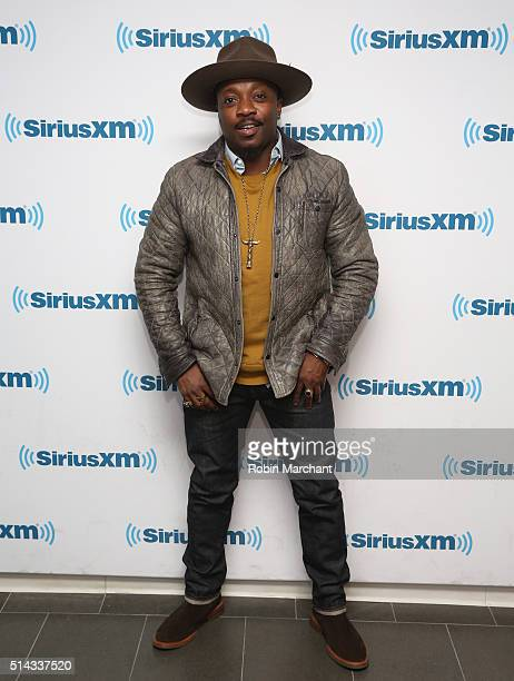 Anthony Hamilton visits at SiriusXM Studio on March 8 2016 in New York City