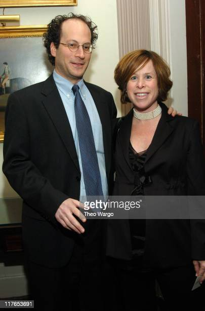 Anthony Harpel and Lisa Harpel during American Cancer Society Fall Theatre Benefit at 21 Club in New York City New York United States