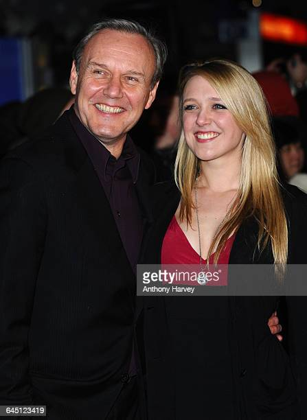 Anthony Head and daughter Emily Head attend The Iron Lady European Premiere on January 4 2012 at the BFI Southbank in London