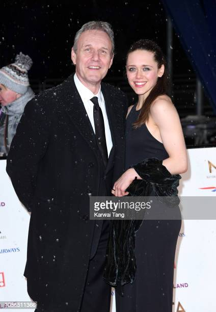 Anthony Head and Emily Head attend the National Television Awards held at The O2 Arena on January 22 2019 in London England