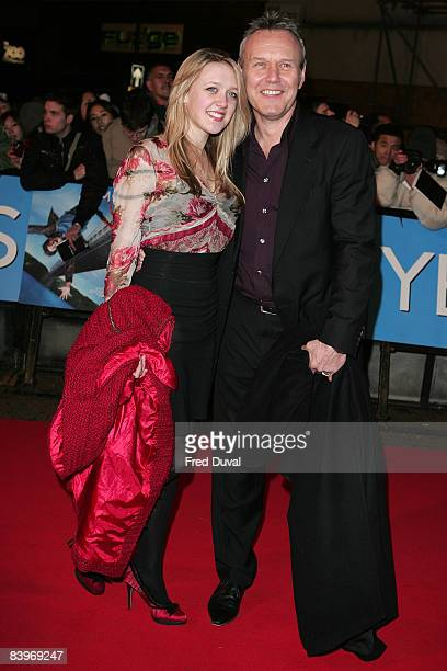 Anthony Head and Emily Head attends the World Premiere of 'Yes Man' at the Vue Leicester Square on December 9 2008 in London England