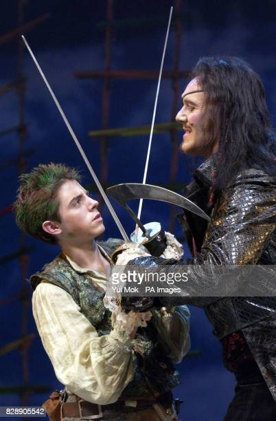 Anthony Head and Jack Blumenau during a photocall for Peter Pan at the Savoy Theatre in central London Anthony Head will star as Captain Hook in the...