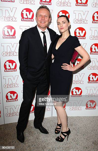 Anthony Head and Katie McGrath attend the TV Quick Tv Choice Awards at The Dorchester on September 7 2009 in London England
