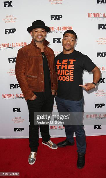 Anthony Hemingway and Steven Norfleet attend the FX's For Your Consideration Event for 'The People v OJ Simpson American Crime Story' at The Theatre...