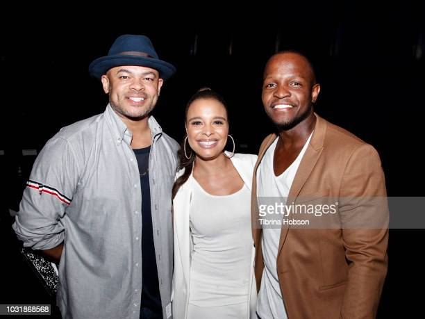 Anthony Hemingway Antonique Smith Qasim Basir attend the premiere of 'A Boy A Girl A Dream' QA and after party on September 11 2018 in Hollywood...