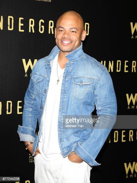 """Anthony Hemingway arrives at WGN America's """"Underground"""" FYC event held at The Landmark on May 2, 2017 in Los Angeles, California."""