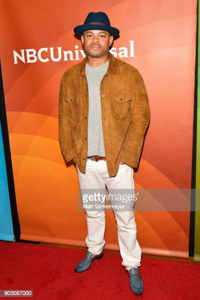 Anthony Hemingway attends the 2018 NBCUniversal Winter Press Tour at The Langham Huntington Pasadena on January 9 2018 in Pasadena California